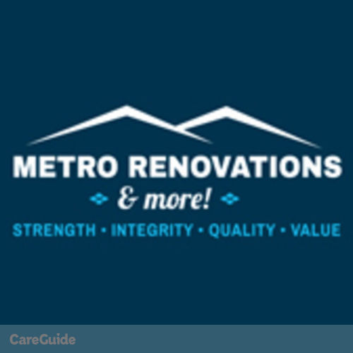 Plumber Provider Metro Renovations & More!'s Profile Picture