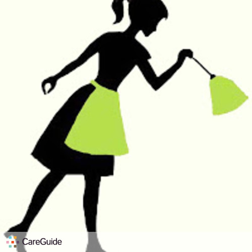 Housekeeper Silhouette Living clean silhouette no