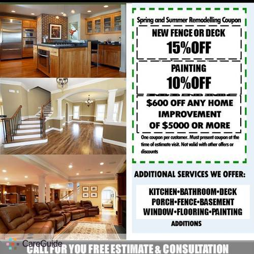 Home Improvement Repair Free Free Free Estimate