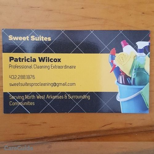 Housekeeper Provider Patricia Wilcox's Profile Picture