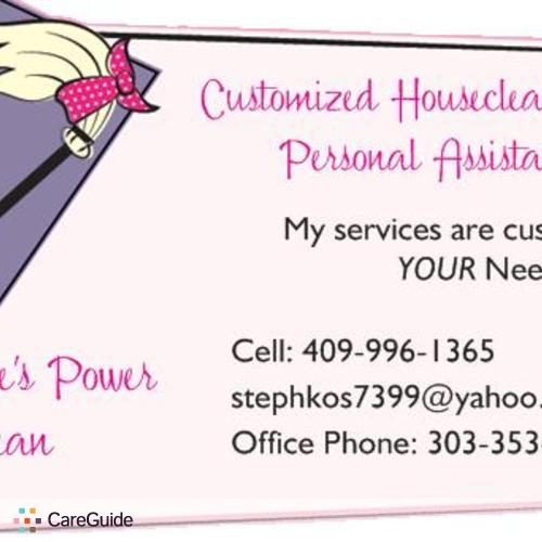 The Woman With Many Hats Customized Housecleaning Personal