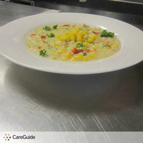 Roasted corn chowder 1