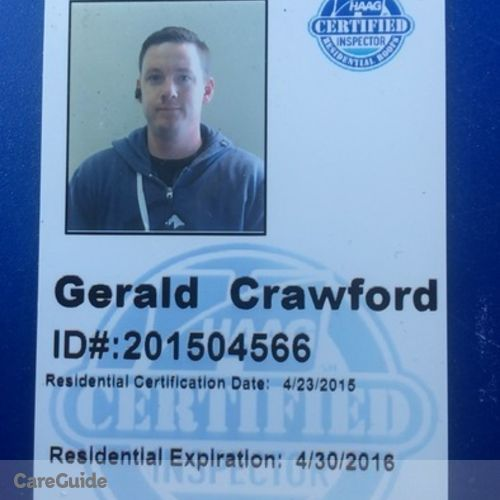 Roofer Provider Gerald Crawford's Profile Picture