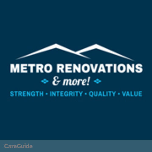 Painter Provider Metro Renovations & More!'s Profile Picture