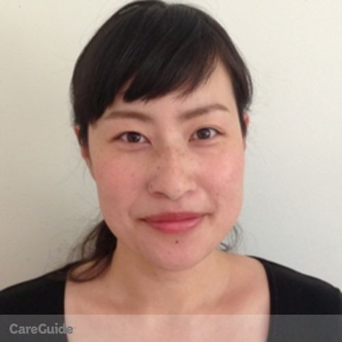 Canadian Nanny Provider Ayano Toda's Profile Picture