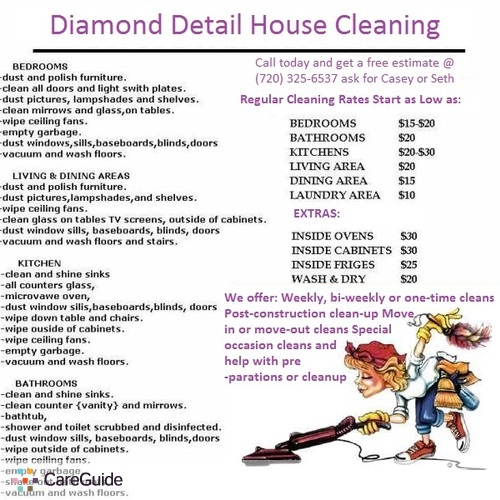 new house cleaning service