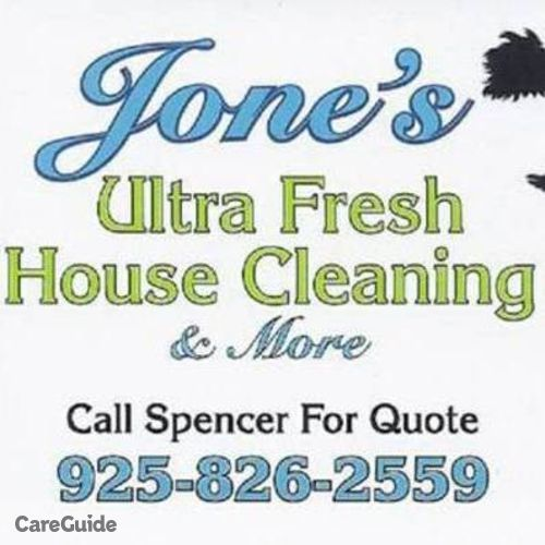 Housekeeper Provider Espencer Jones's Profile Picture