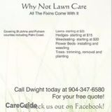 Why Not Lawn Care
