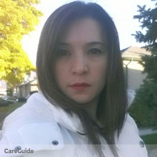 Canadian Nanny Provider Mary K's Profile Picture