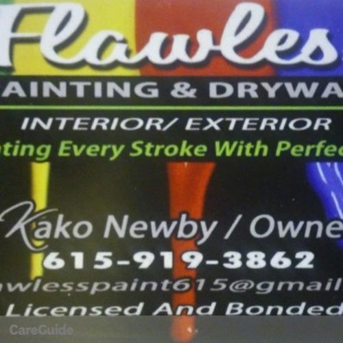 Painter Provider Kako Newby's Profile Picture