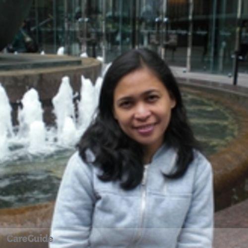 Canadian Nanny Provider Karen Medalla's Profile Picture