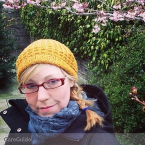 Canadian Nanny Provider Marie Harrison's Profile Picture