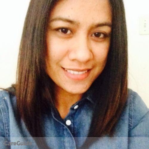Canadian Nanny Provider Carlene Astrid F's Profile Picture
