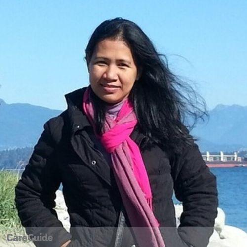 Canadian Nanny Provider Racquel G's Profile Picture