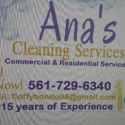 Housekeeper Provider Ana E's Profile Picture