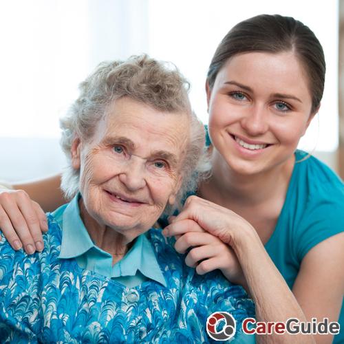 Elder Care Provider Tanner 's Profile Picture