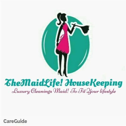 Housekeeper Provider TheMaidLife! Housekeeping Luxury cleanings maid! To fit your lifestyle's Profile Picture