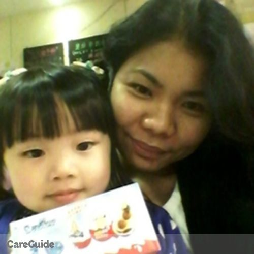 Canadian Nanny Provider May Ann Arenas's Profile Picture