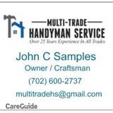 I am a jack of all trades and master of quite a few. No job too big or too small. Call me today for a free estimate.