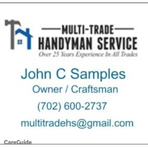 Handyman Provider John Samples's Profile Picture