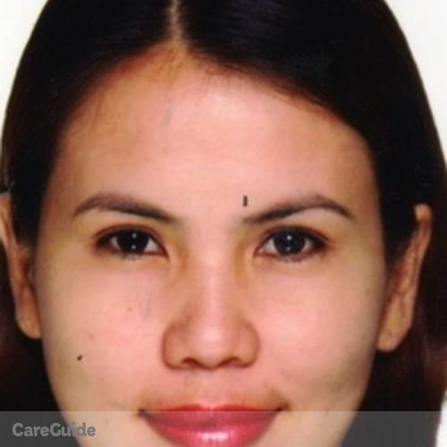 Canadian Nanny Provider Leilanie Peras's Profile Picture