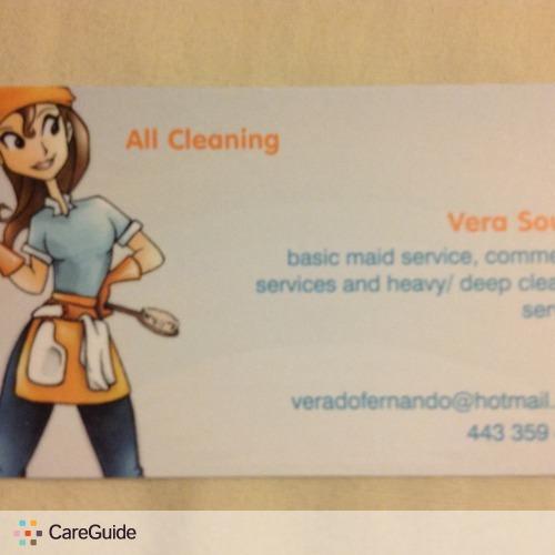 Housekeeper Provider Vera S's Profile Picture