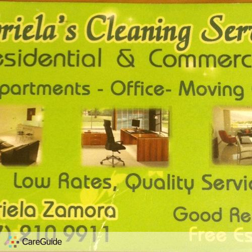 Housekeeper Provider gabriela z's Profile Picture