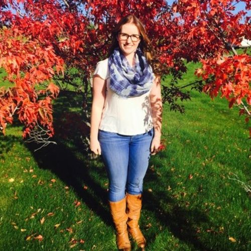 Canadian Nanny Provider Madeline Hine's Profile Picture