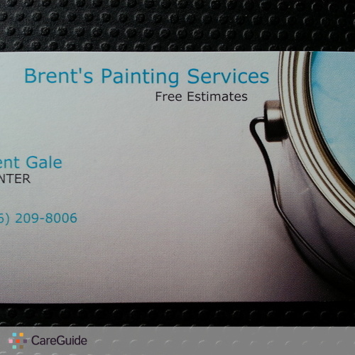 Painter Provider Brent G's Profile Picture