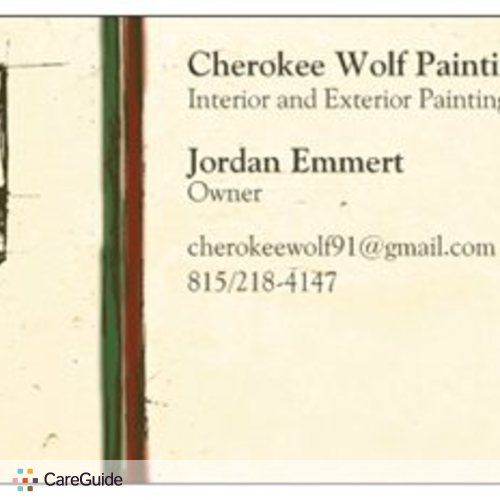 Painter Provider Jordan E's Profile Picture