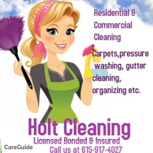 Housekeeper Provider Holt Cleaning's Profile Picture