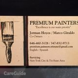 Painter in New York City