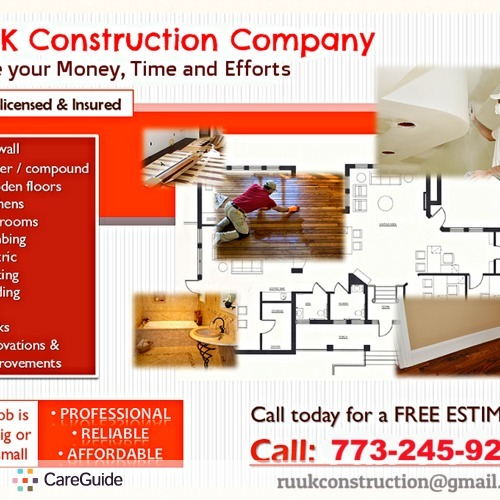 Roofer Provider Ruuk Construction's Profile Picture
