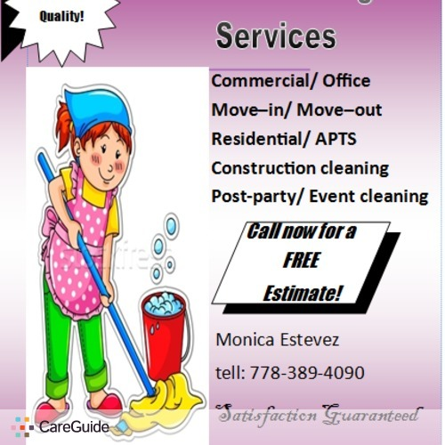 Housekeeper Provider Monica Estevez's Profile Picture