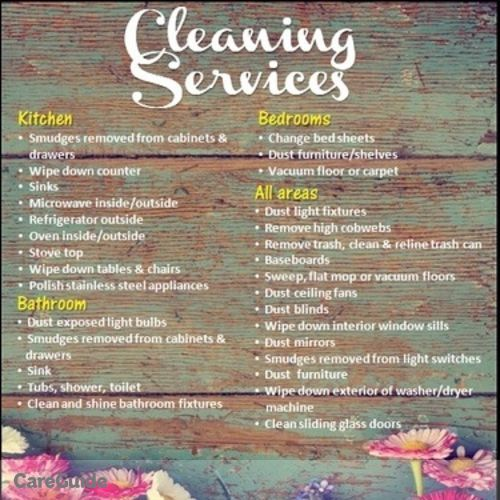 Housekeeper Provider Aroma Cleaning Service's Profile Picture
