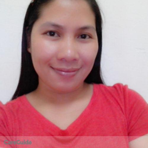 Canadian Nanny Provider Sheilden Escubin's Profile Picture