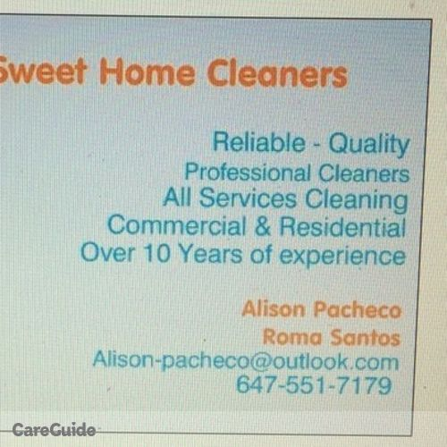 Housekeeper Provider Alison Pacheco's Profile Picture