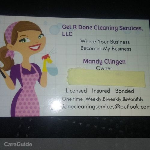 Housekeeper Provider Amanda C's Profile Picture