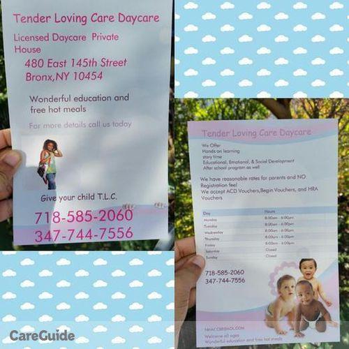Child Care Provider Bernice M's Profile Picture