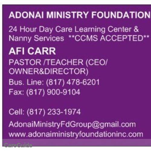 Child Care Provider Afi C's Profile Picture