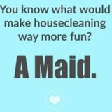 If you need a cleaning service for you and your family, call me!
