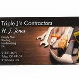 My name is HJ Jones,I have owned and operated Triple J's contractors for 12 years