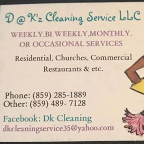 Housekeeper Provider D at Ks Cleaning service LLC's Profile Picture