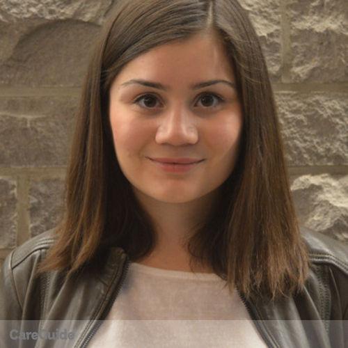 Canadian Nanny Provider Ariana B's Profile Picture