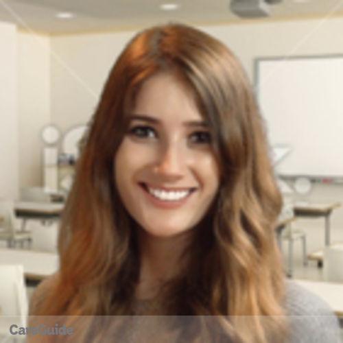 Canadian Nanny Provider Alexandra O'Hora's Profile Picture