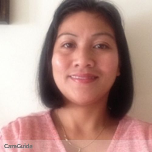 Canadian Nanny Provider Mylene Reyes's Profile Picture