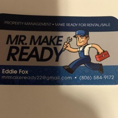 Mr Make Ready,