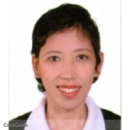 Canadian Nanny Provider Rochel Cruz's Profile Picture
