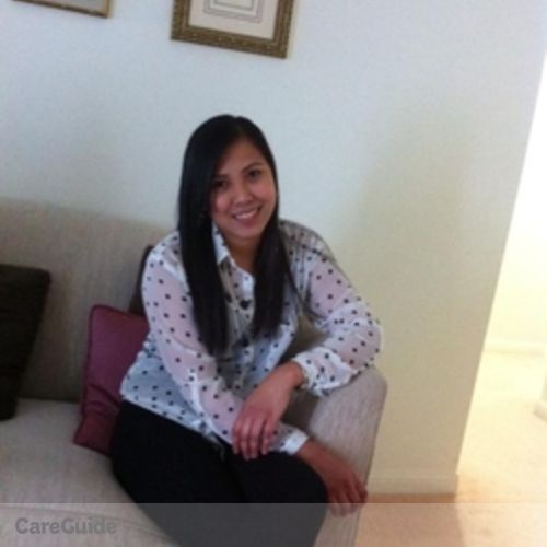 Canadian Nanny Provider Sheila Marie Agcaoili's Profile Picture