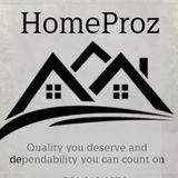 Homeproz handy man services.